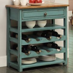 Carolina Preserves 8 Bottle Wine Cabinet