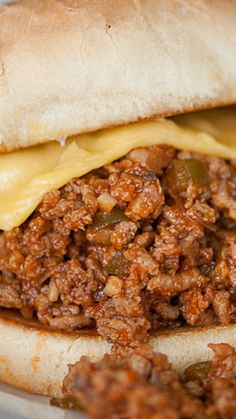 #1 Homemade Sloppy Joes