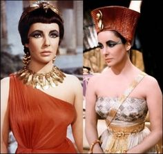 liz taylor as cleopatra, halloween costume perhaps? by TinyCarmen