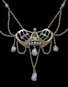 Jugendstil Necklace, ca. 1900
