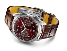 Shades Of Burgundy, Burgundy Color, Breitling, Bordeaux, Chronograph, Omega Watch, Stainless Steel Case, Color Combos, Accessories