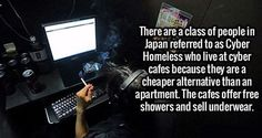 Cyber Homeless. If you can live anywhere why pick somewhere