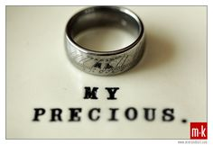 Lord of the Rings-inspired titanium engraved ring. Lord Of The Rings, Rings For Men, Elvish, Blue Leaves, Titanium Rings, One Ring, Engraved Rings, My Precious, Geek Chic
