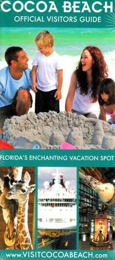 #CocoaBeach Chamber of Commerce #Brochure #Travel #Florida