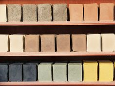 rocky top soap shop - wonder if I could ever commit to this earthy a palette