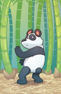 Panda bear Art Print by memoangeles | Society6