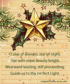 Star of wonder by shepherdlambcards, Christian eCards for the entire Family http://shepherdlambcards.com/