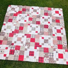 PDF Quilt Pattern, Lap or Baby size.Quick and Easy, Layer Cake or Fat Quarters, San Francisco Window Boxes Patchwork Quilt Patterns, Patchwork Fabric, Quilting Patterns, Jelly Roll Patterns, Baby Patterns, Block Patterns, Fat Quarters, One Layer Cakes, Layer Cake Patterns