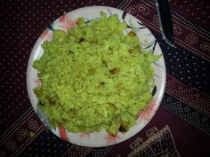Poha made in room...