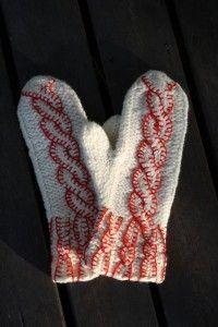 Hildurs vantar - Gratis mönster --- Swedish pattern --- give me a holler if you need translation :0)