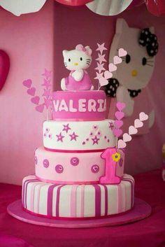 FIESTAS TEMA HELLO KITTY FIESTAS TEMA HELLO KITTY Pinterest Cake