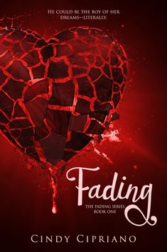 """Cindy Cipriano, author of Fading, has some really interesting things to say about the book: """"Fading crosses genres. It's a paranormal romance colliding with a dystopia. Fading is also a crossover, appealing to young adult and older readers. Best Book Covers, Beautiful Book Covers, Book 1, The Book, Carry On Book, Fantasy Romance, Cool Books, Paranormal Romance, Free Kindle Books"""