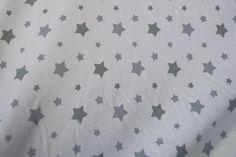 Stenzo16 1660-16 Tricot sterren wit/grijs