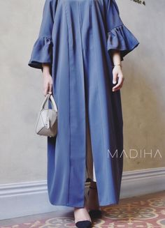 Exclusive: Get a First Look at the Fall 2018 Bridal Collections! Abaya Fashion, Muslim Fashion, Modest Fashion, Runway Fashion, Fashion Dresses, Muslim Dress, Hijab Dress, Modest Dresses, Modest Outfits