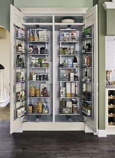 Full height pull swing larder 500mm storage solutions for Full height kitchen units