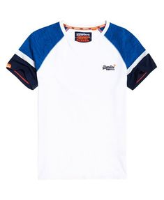 Shop Superdry Mens Engineered Baseball Short Sleeve T-Shirt in Pacific Blue Heather. Buy now with free delivery from the Official Superdry Store. Baseball Shorts, Smart Casual Outfit, Mens Tee Shirts, Boys Shirts, Chemise Fashion, Sport T-shirts, Superdry Mens, Herren T Shirt, Streetwear Brands