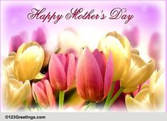 Mother's Day wishes! Hope you have a bright and wonderful Mother's Day. Mothers Day Ecards, Happy Mothers Day Wishes, Mothers Day Special, Big Hugs For You, Wishes For You, Mothers Day Images, Family Wishes, Thank You Messages, Name Cards