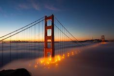 Sleepy Golden Gate by Andreas Gros, via 500px