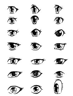 #Anime Eyes Tips for drawing anime!