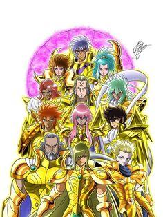 Saint seiya gold saints omega