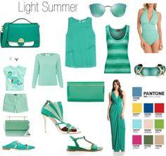 Greenery for Light Summer