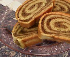 Soapsmith's Blog: Polish Nut Rolls - strucla orzechami Hungarian Nut Roll Recipe, Hungarian Recipes, Russian Recipes, Russian Foods, Christmas Bread, Christmas Baking, Polish Christmas, Christmas Foods, Christmas Recipes