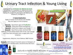 Urinary tract infections Essential Oils For Uti, Essential Oil Uses, Young Living Essential Oils, Essential Oil Diffuser, Remedies For Kidney Infection, Uti Remedies, Urinary Tract Infection, Natural Remedies, Yl Oils