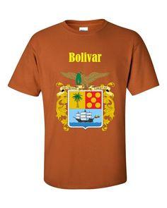 COL-BLV1 Bolivar Colombia 2000 Playera Adulto