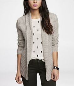 MARLED RIBBED COVER-UP