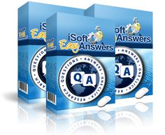 """""""iSoft Easy Answers"""" is a QandA research software that connects to Yahoo! Answers and displays a list of questions and the BEST answers to them, thus allowing you to utilize the information chosen by voters to create great informational e-books, articles, or other informational products: http://www.internetmasterycenter.com/products/isoft-easy-answers.html"""