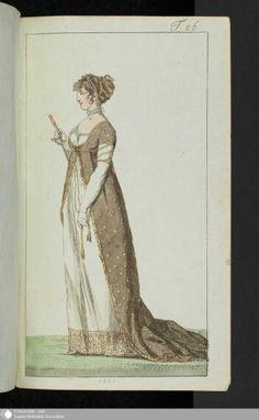 September 1801 Journal des Luxus under der Moden