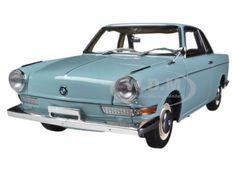 BMW 700 Sport Coupe Ceramic Blue 1/18 Diecast Car Model by Autoart