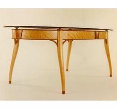 Custom Design Glass Top Dining Table