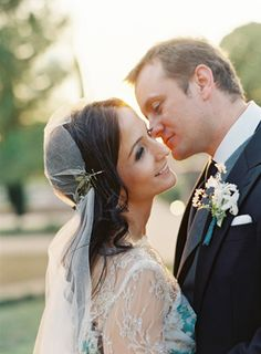 Wedding Ideas: elegant-wedding-veil-delicate-hairpiece