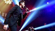 """Adam Lambert and Queen brought down the house performing the rare Freddie Mercury solo song, """"Love Kills,"""" at the iHeartRadio Theater in Burbank. """"We are going to do it our own way,"""" said Lambert. """"Minus the disco."""" (1296×730)"""