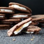 Nutella S'more Sandwich Cookies