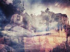 """ph. © Elisei Noata Eli """" cu Lucian Olteanu in Paris. """""""