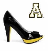 App State High Heels---is this really necessary?  And when do the NE Patriot shoes come out?