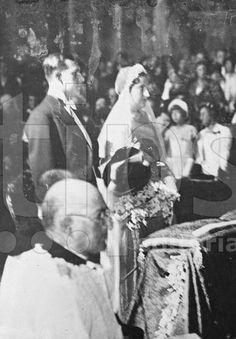 Boda d los condes de Barcelona: Juan de España y María de las Mercedes de las Dos Sicilias