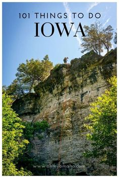 101 Things To Do In Iowa - A list of must-see sights, unique festivals and restaurants, and a ton of outdoor adventures in Iowa. Places To Travel, Places To See, Travel Destinations, Stuff To Do, Things To Do, Us Road Trip, Iowa Hawkeyes, Travel Goals, State Parks