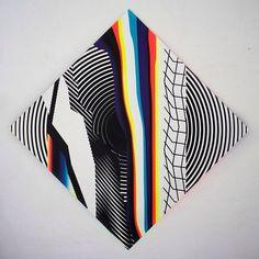 What a wonderful sense of aesthetics! This would make an amazing vinyl cover. Felipe Pantone