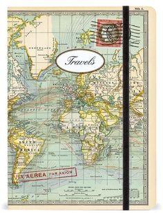 Cavallini & Co. 'Map' Notebook