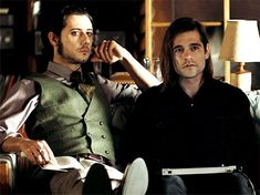 """mymycorrhizae: """"Quentin & Eliot sitting together in """" Eliot Waugh, Jason Ralph, Best Magician, The Magicians Syfy, Proof Of Concept, Hot Actors, Hot Anime Guys, Glee, Movies And Tv Shows"""