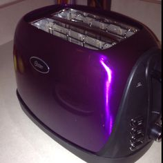 a purple toaster- elegant Purple Love, All Things Purple, Shades Of Purple, Deep Purple, Purple Stuff, Pink, Purple Toaster, My Favorite Color, My Favorite Things
