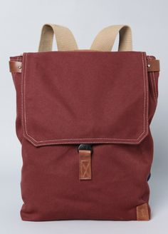 18e5ec015471 Corlear Waxed Canvas Backpack Excess Baggage