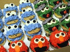 Though Sesame Street characters are not novel in the baking industry, of all the SS inspired cupcakes we have seen