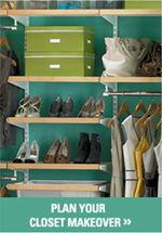 The Container Store amazing closets!