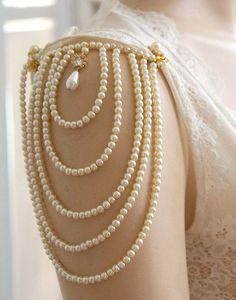 Classy girls wear pearls.