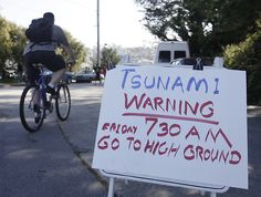 Tsunami ?  they don't happen right ? US gov't wants to cut warning budgets ???
