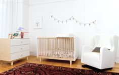 Vola Glider with Oeuf Crib and Dresser
